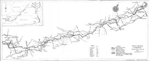 Bue Ridge Parkway Guidebook 1940