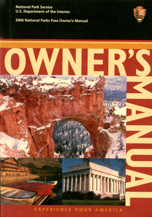 NPS Park Brochures (Miscellaneous Brochures : Assorted 1960s - 2010s)