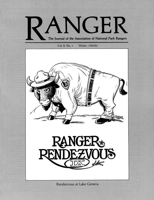 Ranger Magazine The Journal Of The Association Of National Park