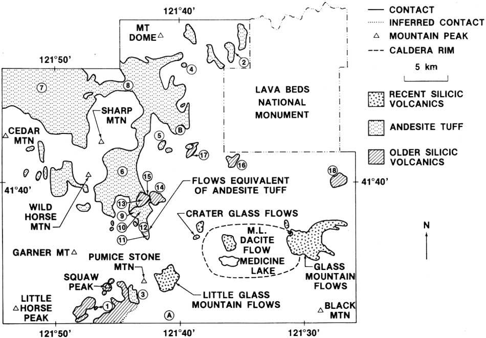USGS Geological Survey Circular Contents - Ms medicine lake us map