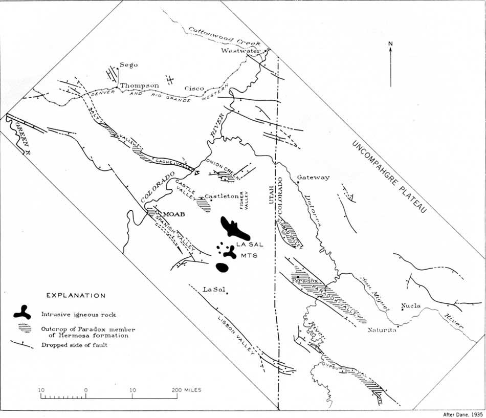 Usgs Geological Survey Professional Paper 669 C Descriptive Geology