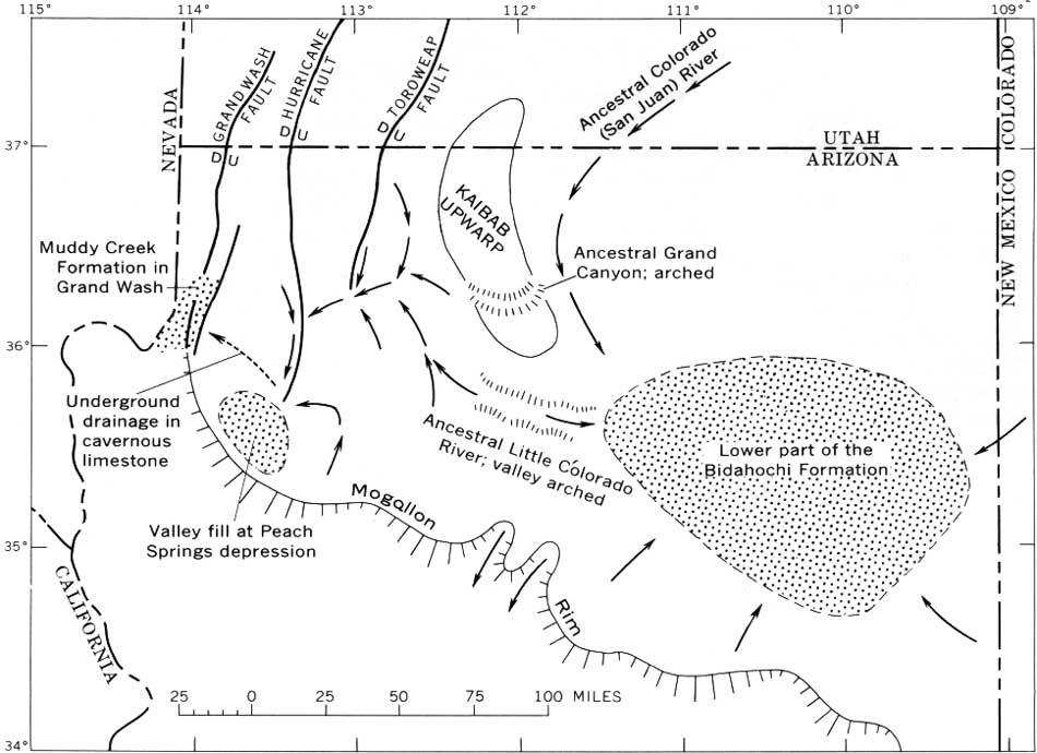 USGS: Geological Survey Professional Paper 669-C () Hoover Dam Diagram