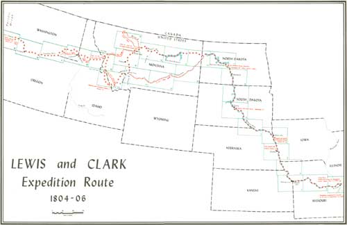The Lewis and Clark Trail A Proposal for Developmen Inventory