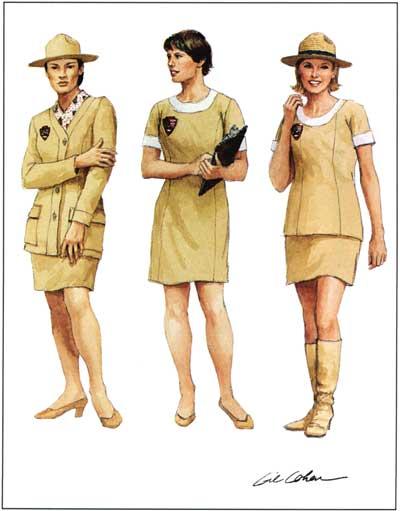 Vintage National Park Service Uniform Pants Women/'s 18