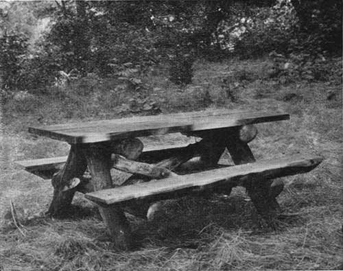 National Park ServicePark Structures And Facilities Seats And Tables - Park picnic table dimensions