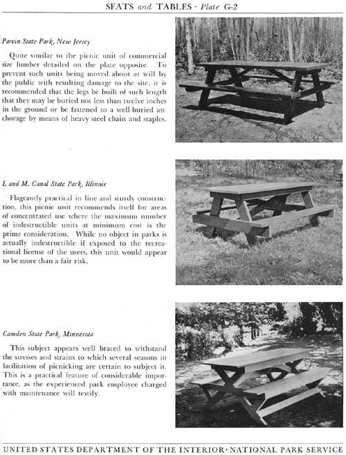 Remarkable National Park Service Park Structures And Facilities Seats Pdpeps Interior Chair Design Pdpepsorg