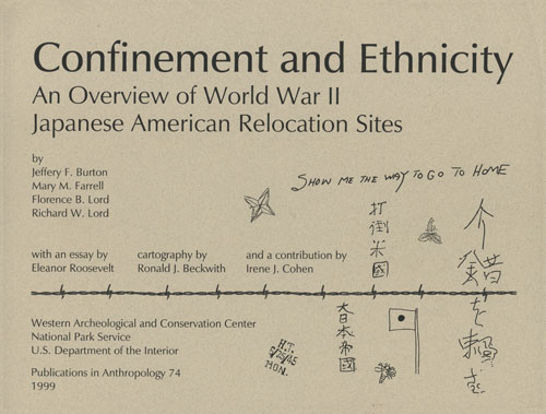 confinement and ethnicity an overview of world war ii ese   world war ii ese american relocation sites book cover